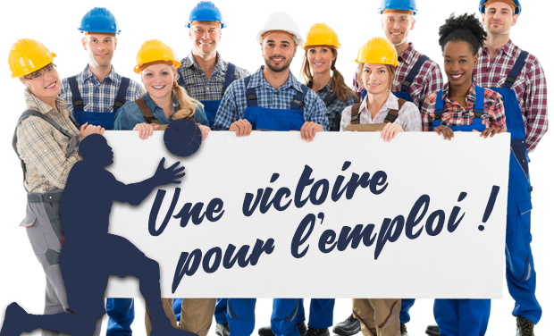 Visuel du projet Une victoire pour l'Emploi
