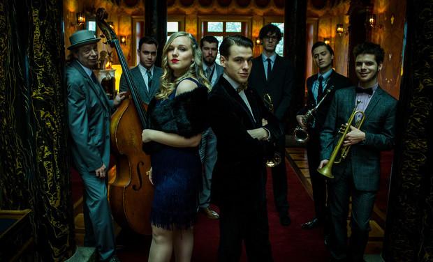 Visuel du projet Premier Album du Galaad Moutoz Swing Orchestra !