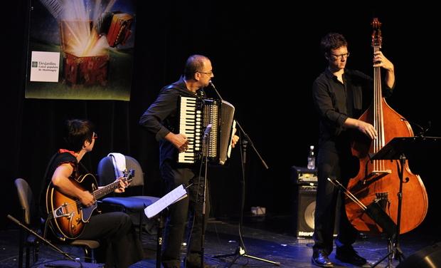 Visuel du projet Un CD pour le Trio Martin Bellemare