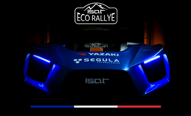 Visueel van project ISAT Eco Rallye