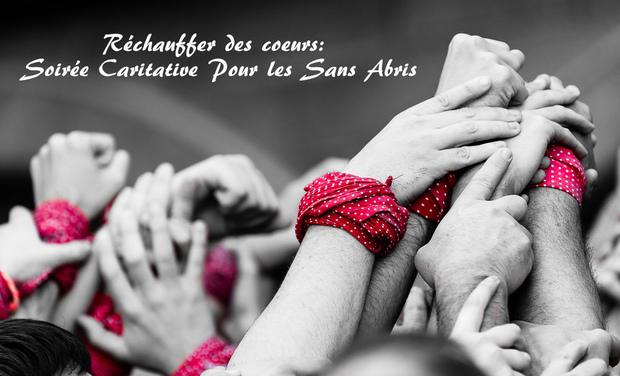 Project visual Réchauffer des coeurs: Soirée Caritative Pour les Sans Abris
