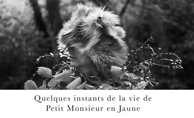 """Visuel du projet """"Quelques instants de la vie de Petit Monsieur en jaune"""""""