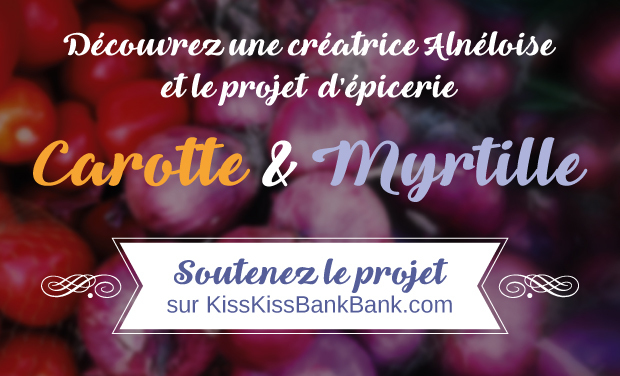 Project visual L'épicerie Carotte & Myrtille