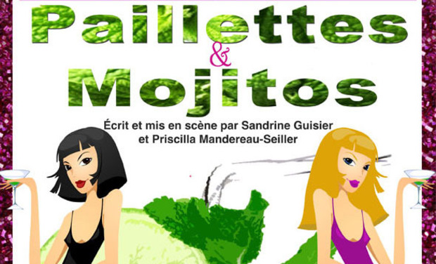 Project visual Paillettes & Mojitos