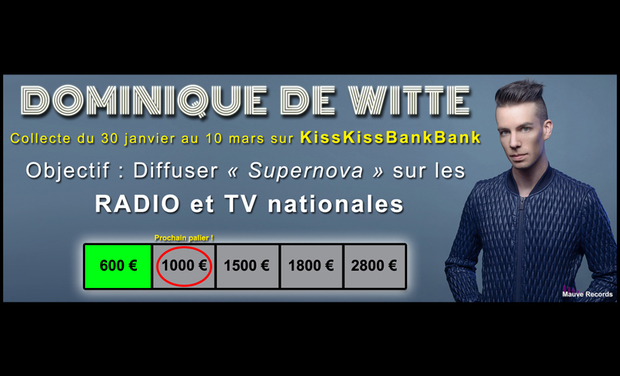 Visueel van project DOMINIQUE DE WITTE - OBJECTIF : Radios et TV nationales !