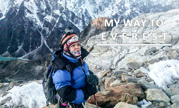 Visueel van project Bouchra Baibanou - My way to Everest