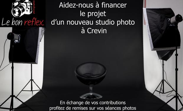 """Visueel van project Création d'un nouveau studio photo """" Le bon reflex """""""
