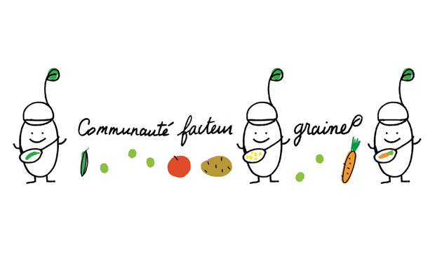 Project visual Communauté Facteur Graine