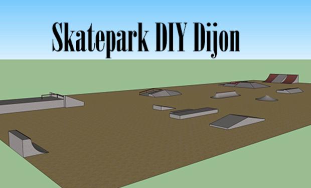Visuel du projet Financez le Skatepark DIY de Dijon