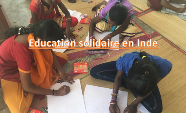 Visueel van project Education solidaire en Inde