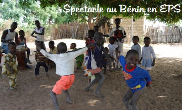 Visuel du projet Spectacle au Bénin en EPS