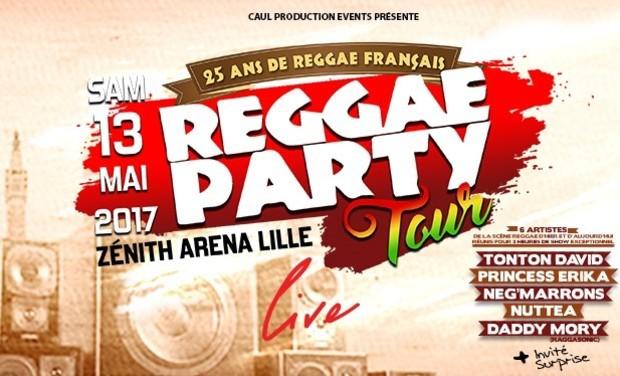 Visuel du projet Reggae Party tour