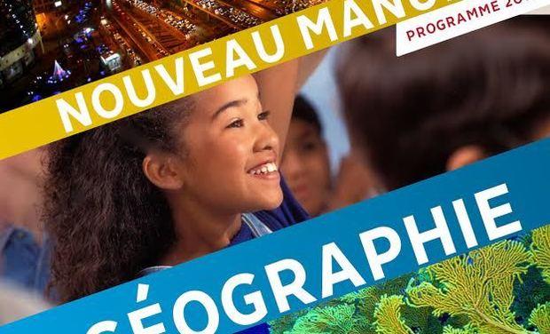 Visuel du projet Publier et diffuser le meilleur Nouveau Manuel de Géographie