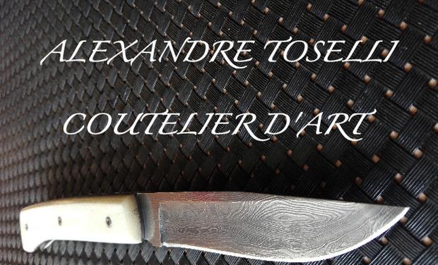 Visuel du projet Alexandre TOSELLI , coutelier d'art en Savoie