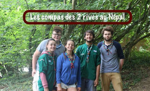Visueel van project Les Compas des 2 Rives au Népal