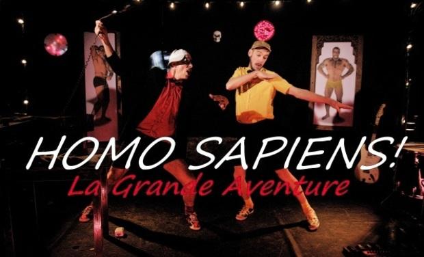 Visueel van project HOMO SAPIENS, La Grande Aventure !!!