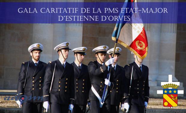 Visueel van project Gala caritatif de la PMS Marine état-major