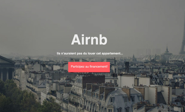 Visuel du projet AIRNB