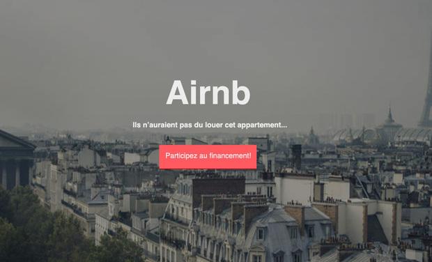 Visueel van project AIRNB