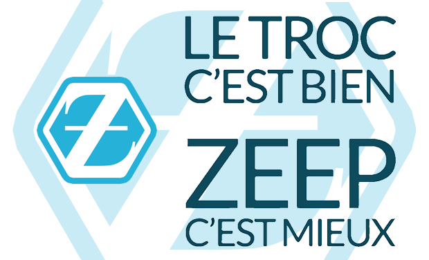 Visueel van project Zeep : le troc, en mieux !