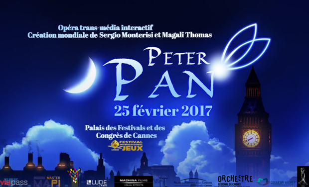 Project visual PETER PAN opéra trans-média interactif