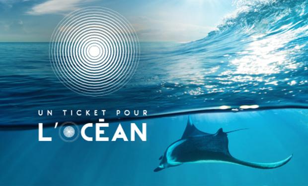 Project visual Festival de cinéma UTPO - Un ticket pour l'Océan - (Marseille, Aix-en-Provence, Toulon, ...)