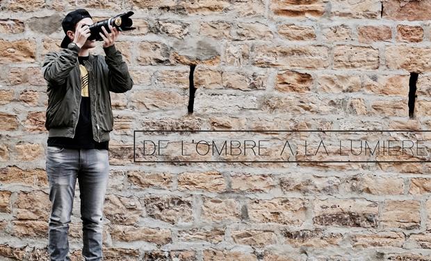 """Visueel van project """"DE L'OMBRE A LA LUMIERE"""""""
