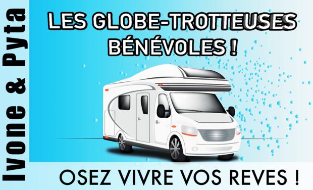 Visuel du projet Les Globe-Trotteuses Bénévoles !