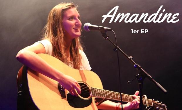 Visueel van project Amandine : Réalisation d'un 1er EP !