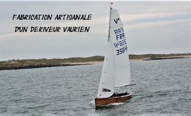 """Visueel van project Fabrication artisanale d'un dériveur """"VAURIEN"""" - Artisanal construction of a dinghy """"VAURIEN"""""""