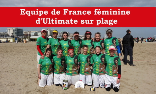 Visuel du projet Equipe de France féminine d'Ultimate sur plage