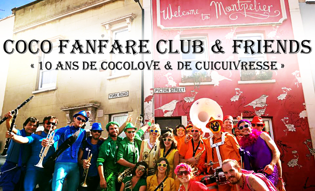 Project visual Les 10 ans du Coco Fanfare Club !