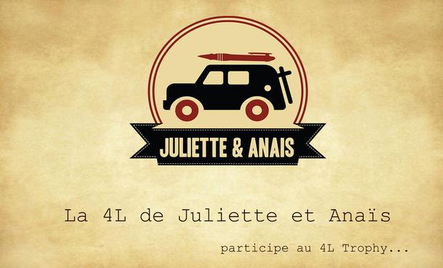 Visuel du projet Le 4L Trophy de Juliette & Anaïs