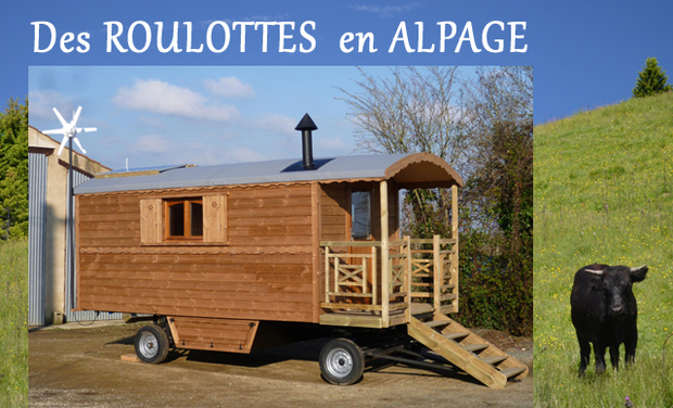 Visueel van project Des roulottes en Alpage