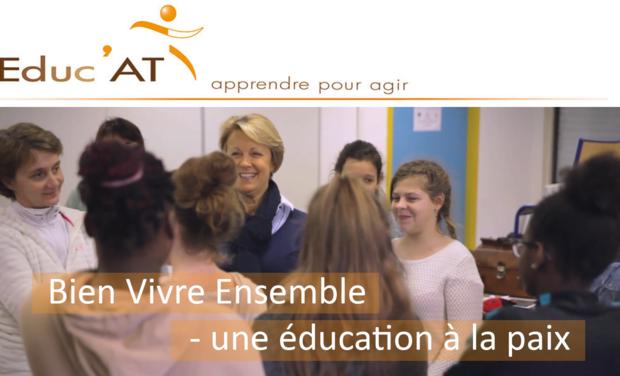 Project visual Bien vivre ensemble - Une éducation à la paix.