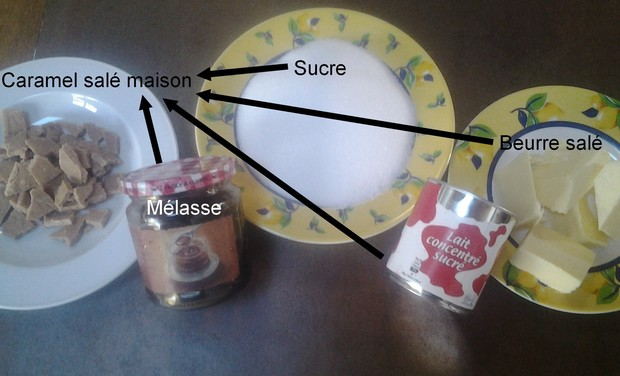 Visuel du projet Les caramels salés maison de nos grands mères