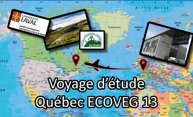 Visueel van project Voyage d'étude au Québec