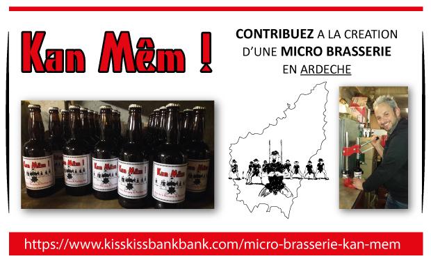 Project visual Micro Brasserie KAN MÊM !