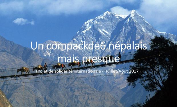 Visueel van project Compackde6 au Népal