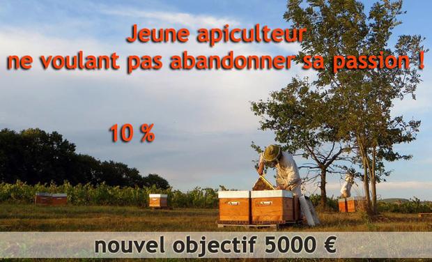 Visueel van project Jeune apiculteur ne voulant pas abandonner sa passion !