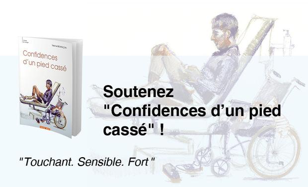 """Visuel du projet """"Confidences d'un pied cassé"""" de Sabine BESANÇON"""