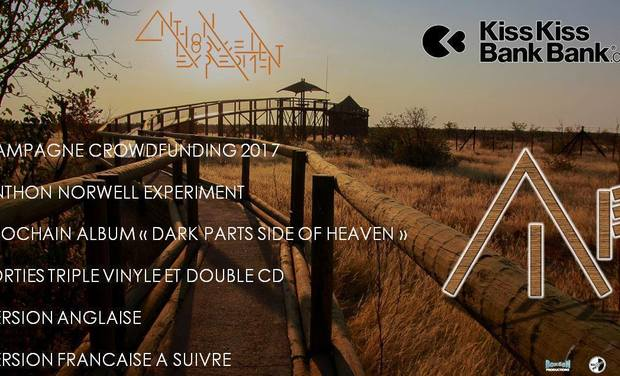 "Visuel du projet Anthon Norwell Experiment ""Dark Parts Side Of Heaven"""