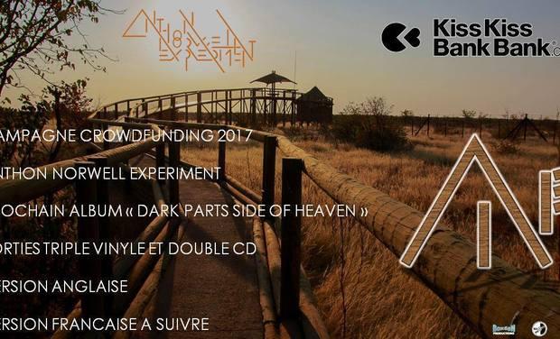 """Visueel van project Anthon Norwell Experiment """"Dark Parts Side Of Heaven"""""""