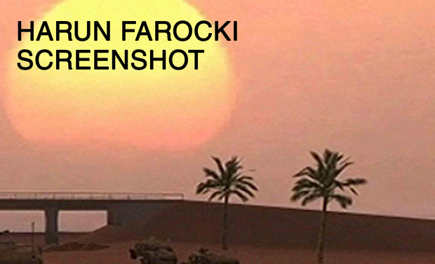 Visueel van project Harun Farocki. Screenshot