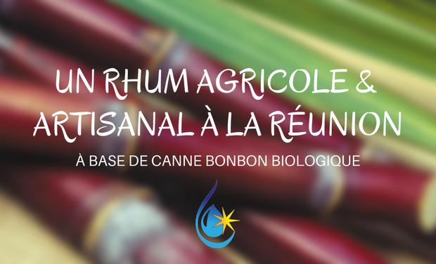 Project visual Un Rhum agricole artisanal à la Réunion
