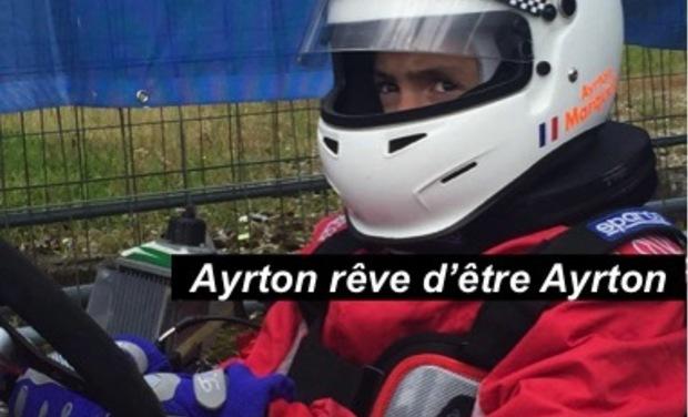 Visueel van project Ayrton rêve d'être Ayrton