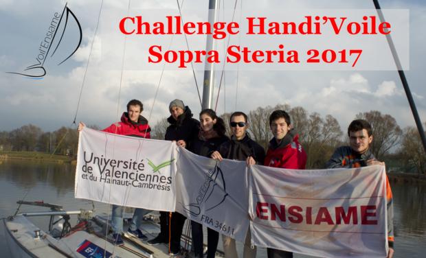 Visueel van project Challenge Handi'Voile Sopra Steria 2017
