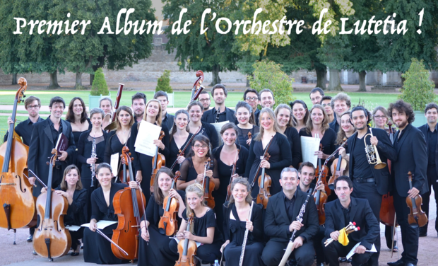 Visuel du projet L'Orchestre de Lutetia entre en studio !