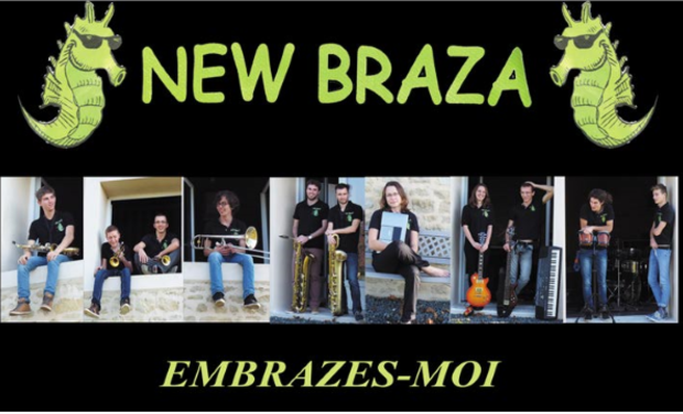"""Visuel du projet New Braza - """"Embrazes-moi"""""""