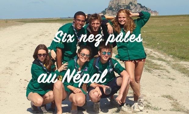 Visueel van project Un Népal, 6 nez pâles